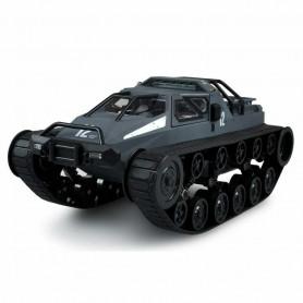 Tank RC Police Militaire Moderne Tout Terrain 1/12 ème Gris Bleu RTR