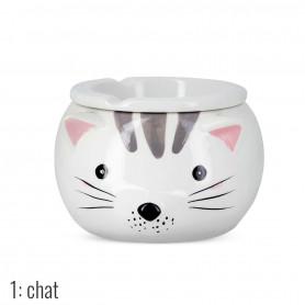 Cendrier Marocain Fun Animal Chat