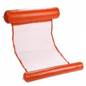 Hamac de Piscine Gonflable Orange