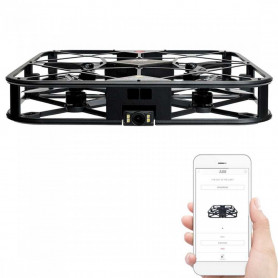 Drone FPV Caméra Full HD 12 MP Q360 Brushless avec Cage de Protection