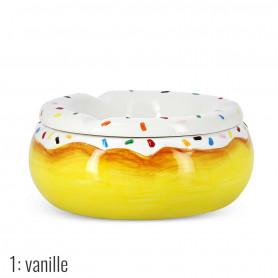 Cendrier Marocain en forme de Donuts à la Vanille