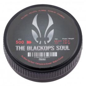 Boite de 500 Plombs 4.5 mm Black Ops Soul Tête Pointue par 1