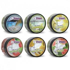 Shiazo Pierre à Vapeur PACK N4 Fruits Exotique Gout a chicha 6 boites 100g