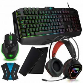 Pack Clavier Souris Casque Xbox One S X Rapid Fire Pro-K8 RGB et Convertisseur