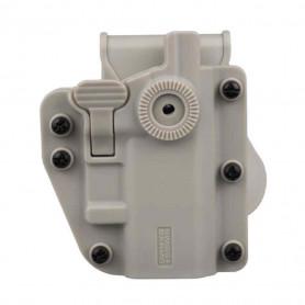 Adapt-X Level 2 Urban Grey, Holster rigide Swiss Arms