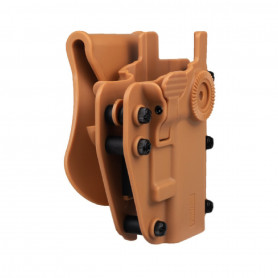 Adapt-X Level 2 Coyote, Holster rigide Swiss Arms