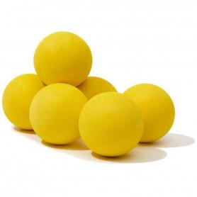 6 Balles de Golf d'entraînement en Mousse EVA Souple Flash Color