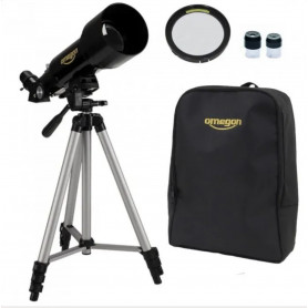 Lunette Astronomique Omegon Solaris 70-400 + Sac à dos + Chercheur + Oculaires