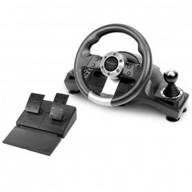 Volant Expert PS4 XBOX ONE PS3 PC DRIVE SPORT RACING PRO avec Pédalier