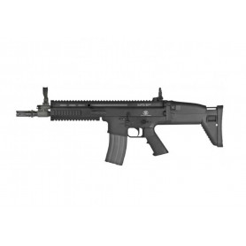 Réplique Airsoft Fusil Mitrailleur FN SCAR L AEG Noir
