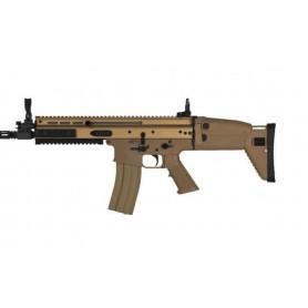 Réplique Airsoft Fusil Mitrailleur FN SCAR L AEG Dark Earth
