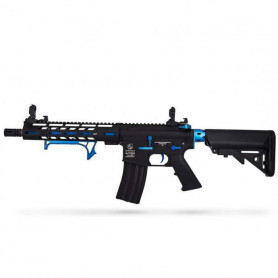 Réplique Airsoft Colt M4 Hornet Blue Fox ED AEG Full Metal Mosfet