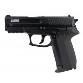Réplique Airsoft Pistolet MLE SP2022 Co2 Culasse Métal