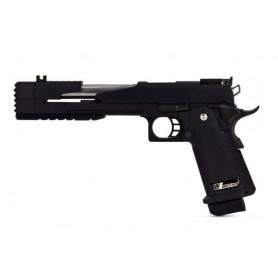 Réplique Airsoft Pistolet WE Hi-Capa Dragon MOD A 7.0 GBB Gas Full Metal