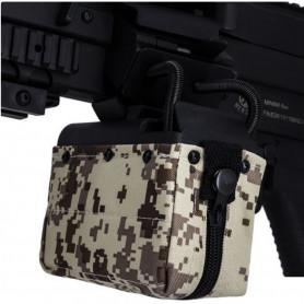 Ammobox A&K Digital Desert 1500 BBs pour M249 MINIMI Machine Gun