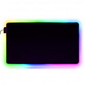 Tapis de souris gamer XL LED RGB
