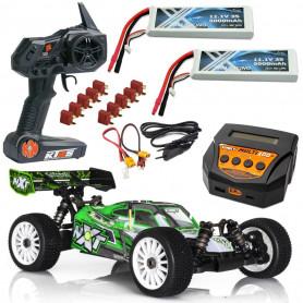 Pack Voiture RC électrique Brushless NXT SPIRIT VRTR 6S + Chargeur