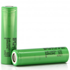 2 x Batteries 2500 mAh pour voitures Funtek