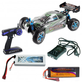 Pack Voiture RC Booster Pro électrique Brushless RTR 2S + Chargeur