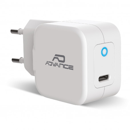Chargeur Mural USB-C Universel Powerflex 20 W Turbo Charge