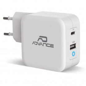 Chargeur Mural USB-C Universel Powerflex 65 W Turbo Charge