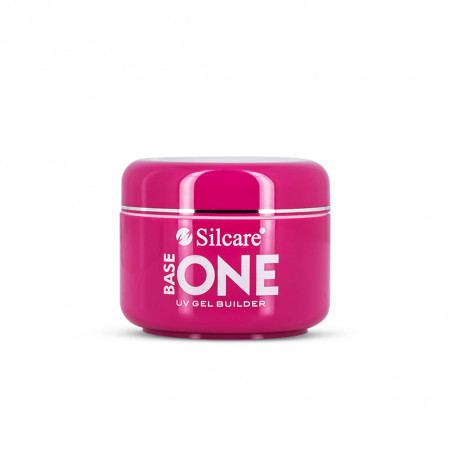 Gel UV Ongle 3 en 1 Monophase Clair 50 g Base One