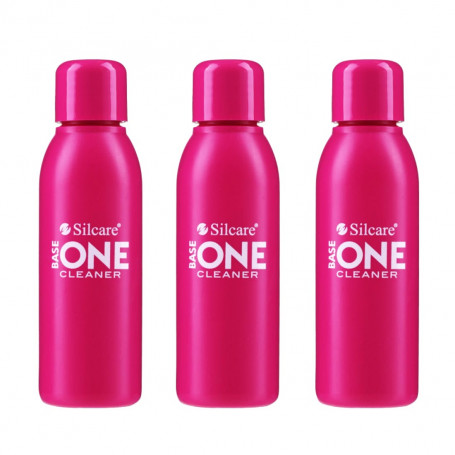 Pack de 3 Cleaner pour ongle Base One 100 ml