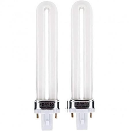 Kit de 2 ampoules de remplacement pour Lampe UV Modèle L