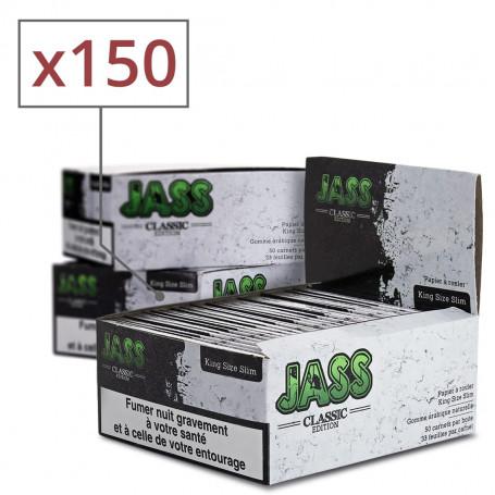 150 Carnets de feuilles SLIM JASS soit 3 Box complètes
