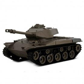 Tank Radiocommandé militaire US M41A3 WALKER BULLDOG 1/16 ème Son et Fumée