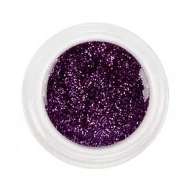 Gel de couleur violet Purple Glitter