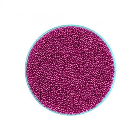 Micro Perles Caviar Rose Foncé pour vernis a ongles TOPKISS Type Ciaté