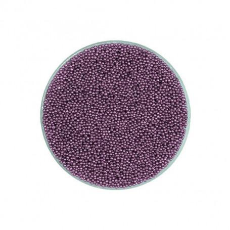 Micro Perles Caviar VIOLET CLAIR pour vernis a ongles TOPKISS Type Ciaté