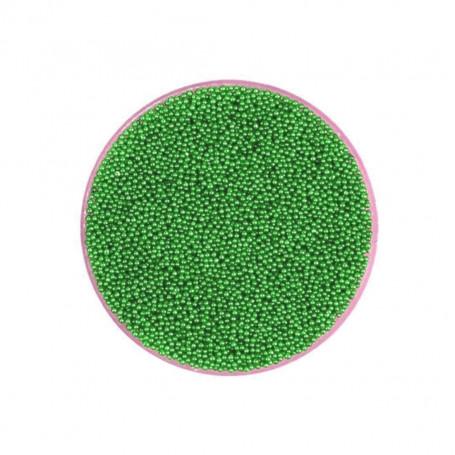 Micro Perles Caviar VERT pour vernis a ongles TOPKISS Type Ciaté