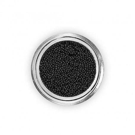 Perles Caviar NOIR pour vernis a ongles TOPKISS