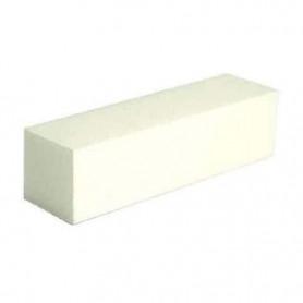 Bloc polisseur blanc pour ongles