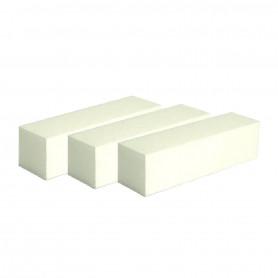 Blocs polissoirs blanc par 3