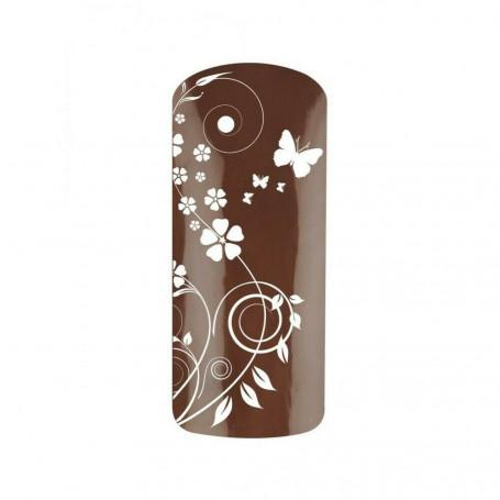Vernis semi permanent couleur Chocolat Noisette Nutea 1027