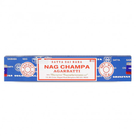 Encens Original Nag Champa Satya Sai Baba Agarbatti 15g
