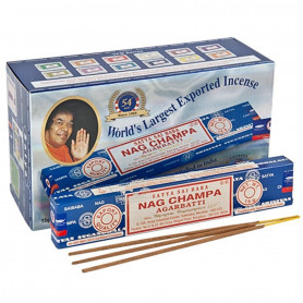 Pack Boite d'encens Original Nag Champa 180g Satya Sai Baba