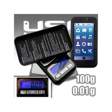Balance de poche Smartphone Hawai V2 0.01g a 100g