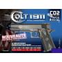 Réplique Airsoft pistolet à bille Colt 1911 Match Co2 Gaz 180306