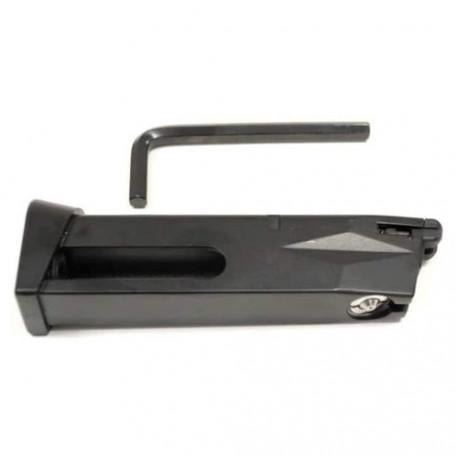 215018, Chargeur court Co2 25BBS pour pistolet à bille Beretta TAURUS PT99 (210508) Cybergun