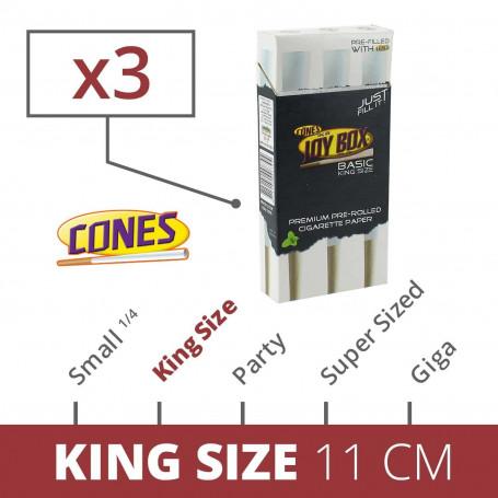 Original Joybox, Machine a remplir les cônes + 3 Cones 11cm
