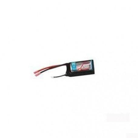 Batterie LiPoStar Turbo LiPo 7,4V 1300mAh 2S - 9,62Wh - Accumulateur Nu Sans Cosses