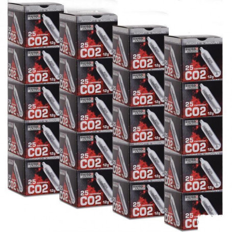 Carton de 500 sparclettes Co2