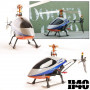 Hélicoptère radiocommandé monorotor Scorpio H40