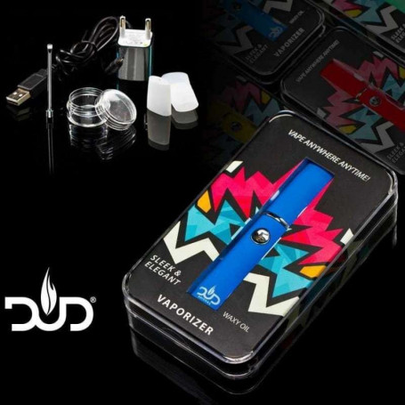 Vaporisateur portatif compact DUD STYLO BLEU