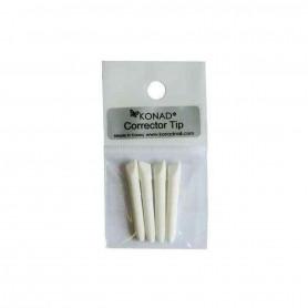 Kit de 4 recharges pour stylo à dissolvant Konad