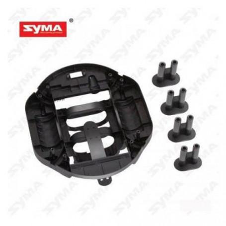 SYMA X6 - CHASSIS ET CROISILLON DE BRAS